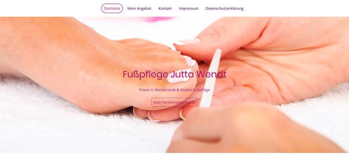 Fußpflege Jutta Wendt