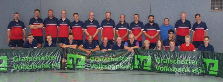 v.l.: Helmut Kempka, Guido Lammering, Timo Gröttrup, Dieter Zinn, Herbert Hoolt