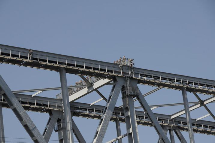 Ein luftiges Vergnügen- Bridge- Walking über die Kongebro