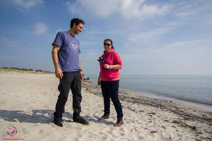 Der Strand von Marielyst - Kitesurfen in Dänemark