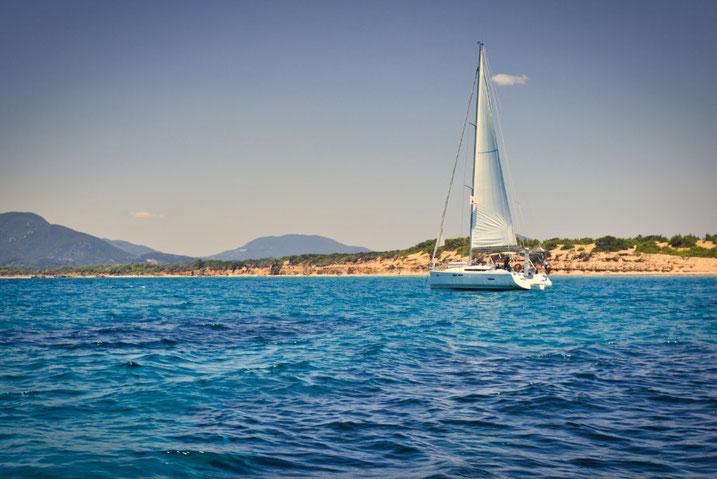 Segeln auf Korfu - Griechenland