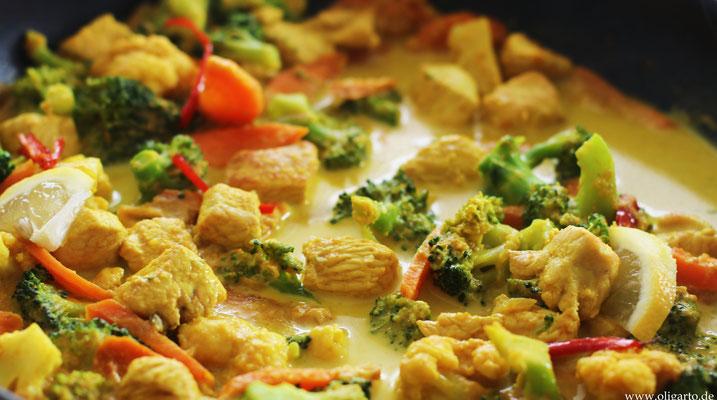 Geflügel-Gemüse-Curry Oligarto Rezepte