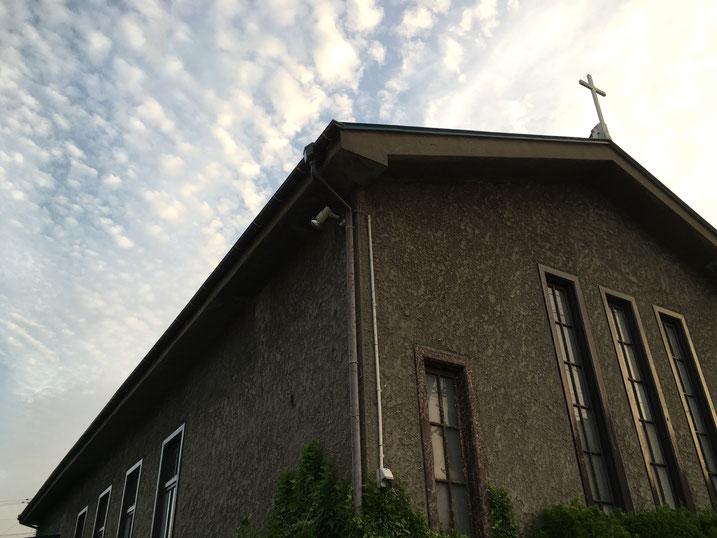 能代教会外観
