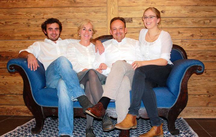 Ihre Gastgeber Familie Schall