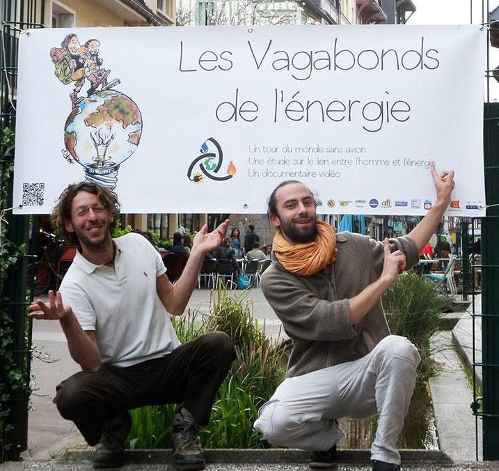 Clément et François les vagabonds de l'énergie