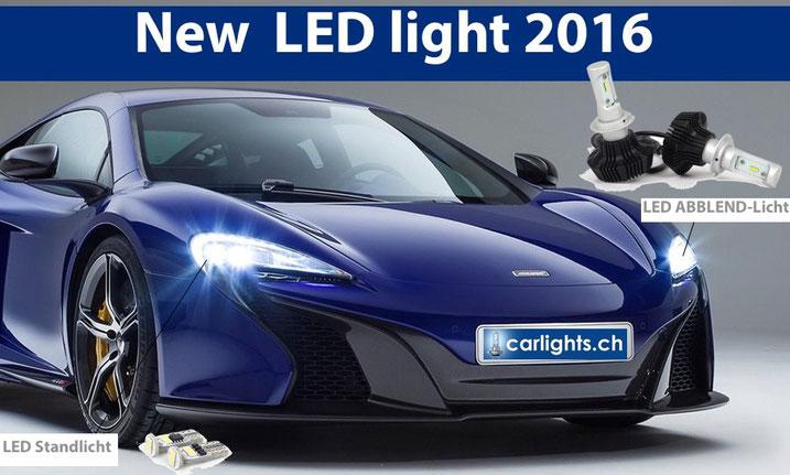 Neu bei www.carlights.ch !!! H7 LED Philips 7. Generation 4000Lumen erhältlich in H4, H7  einfach alte Halogen Lampe raus und LED rein. Schönes Lichtbild wie Xenon. 2 Jahre Garantie Swiss Made