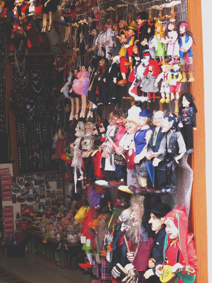 bigousteppes république tchèque prague marionnettes