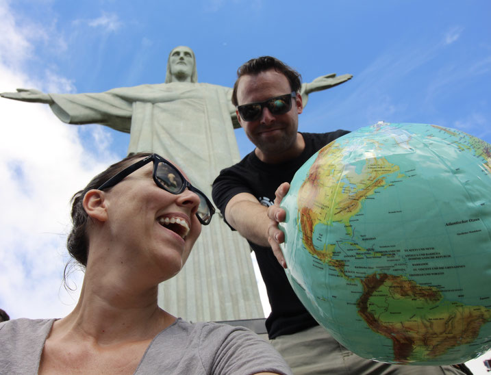 weltreise Reiseblog Sehenswürdigkeiten Rio de Janeiro Brasilien Sightseeing Highlights Südamerika Cristo Redentor Christusstatue Corcovado