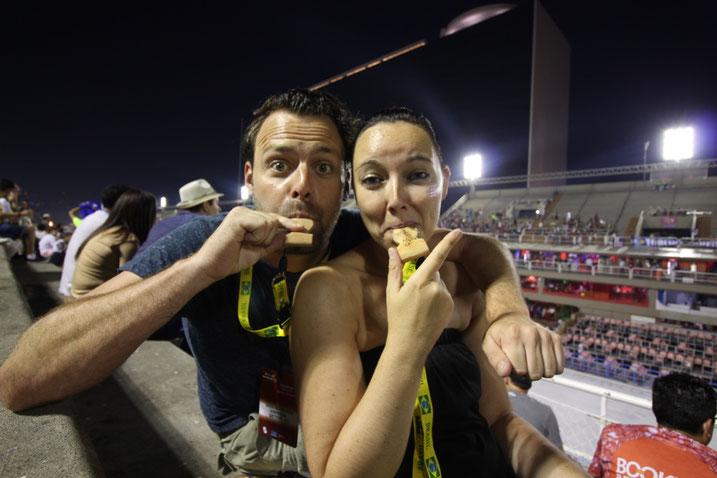 Weltreise Reiseblog Sehenswürdigkeiten Rio de Janeiro Brasilien Sightseeing Highlights Südamerika  Karneval Sambadromo Carneval