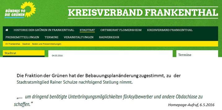 Grüne Wiese Frankenthal ziegelhofgebiet bürgerinitiative
