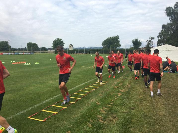 Das Team rund um Willi Vorsager und Daniel Toth trainierte fleissig und bereitete sich somit optimal auf die kommende Saison vor