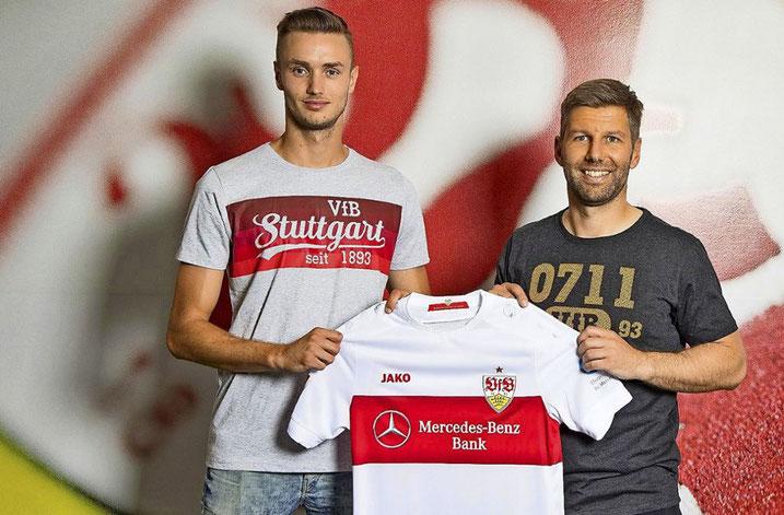 Sasa Kalajdzic' Wechsel zum VFB Stuttgart wurde letzte Woche fixiert
