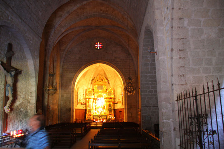 Bild: In der Kapelle Notre-Dame-de-Beauvoir in Moustiers-Sainte-Marie