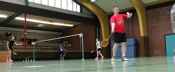 Matthias Kroll BV Mühlacker Heilbronn Staufenbergcup Turnier Badminton Herreneinzel