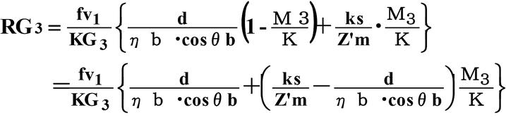短時間過電流耐力出力係数(RG3)  自家発電設備