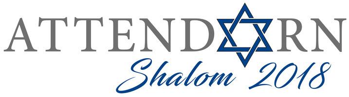 Das Logo von Shalom Attendorn 2018