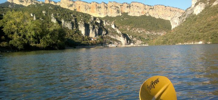 Embalse de Sobrón. Kayak Aventura Sobrón