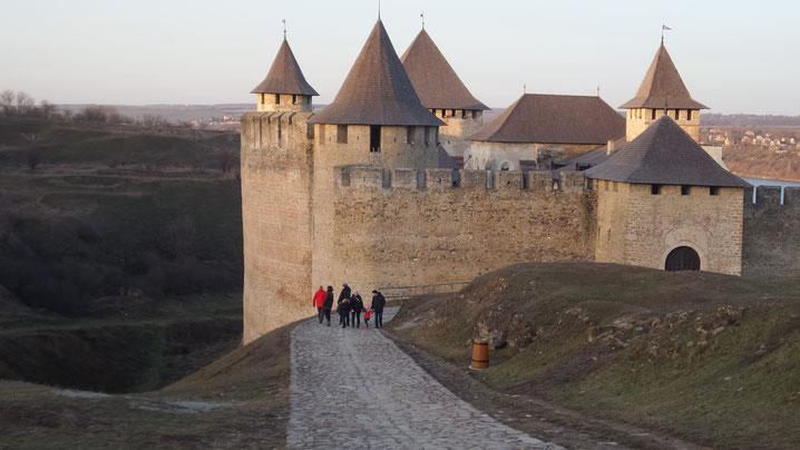 Хоти́нская крепость