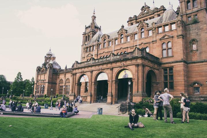 Glasgow Scotland UK ofpenguinsandelephants of penguins and elephants Kelvingrove Art Gallery and Museum