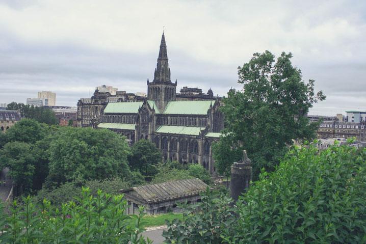 Glasgow Scotland UK ofpenguinsandelephants of penguins and elephants Cathedral Necropolis