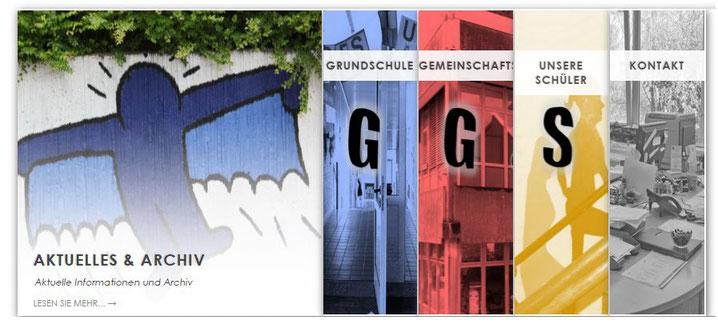Website der GGS