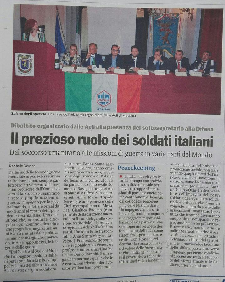 Gazzetta del Sud del 15/7/2017