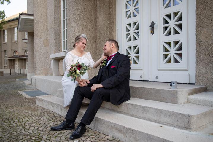 Das Brautpaarshooting in HCC