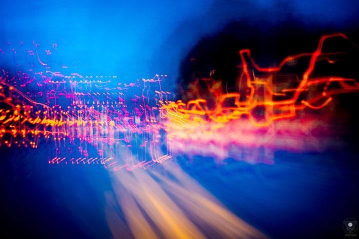projekt flyinglandscape autobahn onstructionsite  201205| www.visovio.de fotografie und fotokunst |   abstraktefotografie farbrauschen autobahn farbexplosion cunstructionsite baustelle