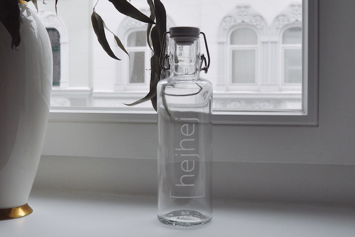 sustianable hejhej-glassbottle