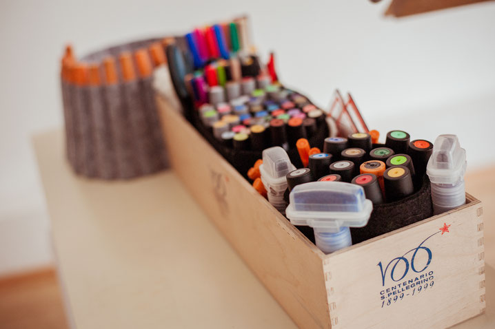 Meet your Markers | die Hauptwerkzeuge in jedem Visualisierungstraining... (Foto: Varvara Kandaurova)