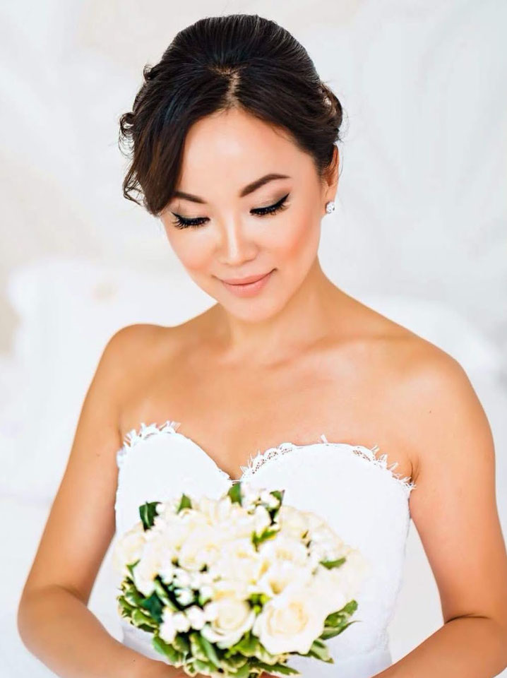 Wedding makeup, bridal hair stylist, makeup artist in Hua Hin