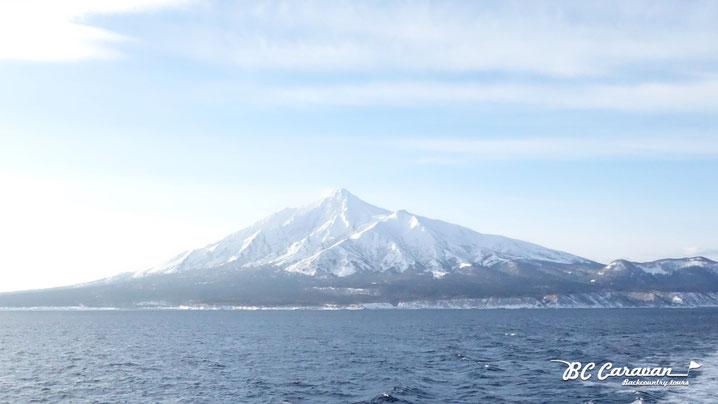 12月の利尻島。(写真提供Silvio)