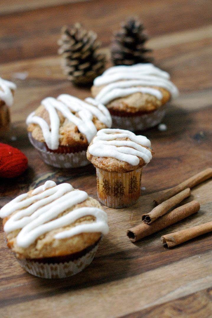 falsche Zimtschnecken-Muffins