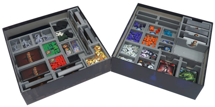 folded space insert organizer clank! clank! in! space!
