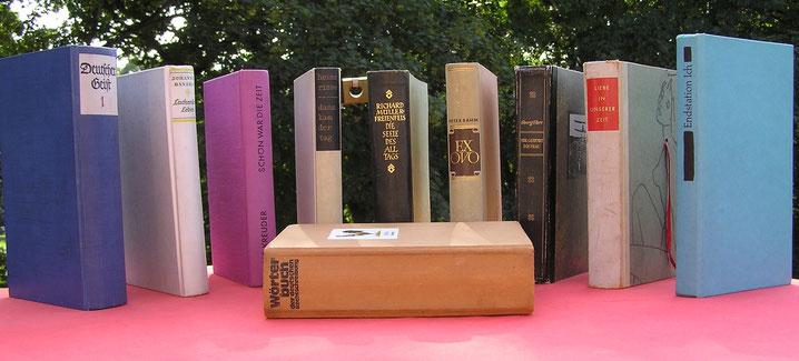 Bücher für den zweiten Blick, Buchobjekte, Kunstobjekte aus Büchern, Hartwig Hansen, Hamburg