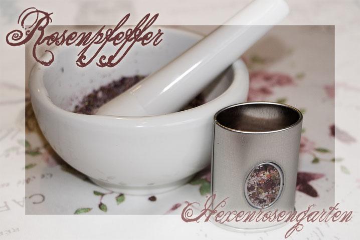 Rosen Rosenblog Hexenrosengarten Rosiger Adventskalender Rosenpfeffer Rosensalz