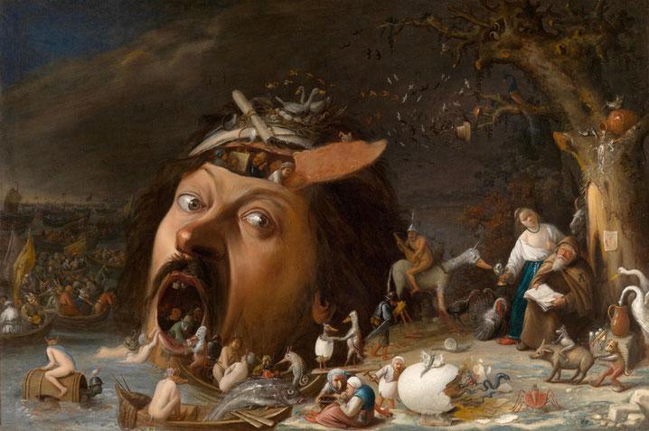 Joos van Craesbeeck, Die Versuchung des Heiligen Antonius, um 1650