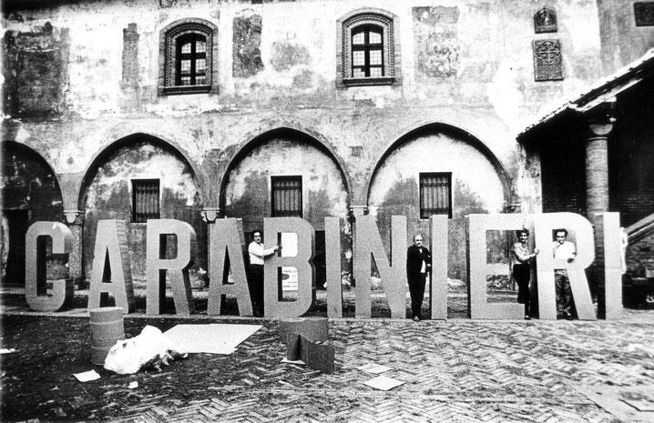Novara, Palazzo Comunale, 1968