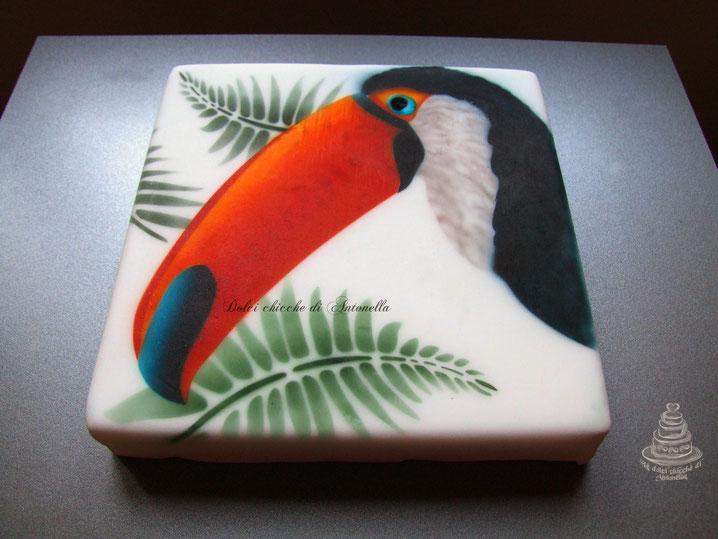 tucano-aerografia-torte-dolci-la spezia-liguria