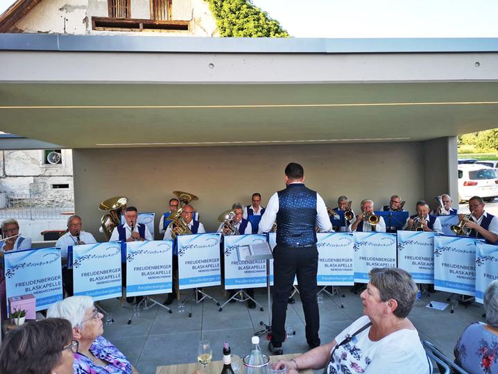 Freudenberger Blaskapelle aus Merenschwand, Musik