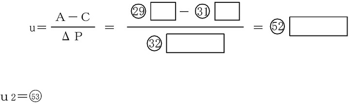 u 2     単相負荷不平衡係数