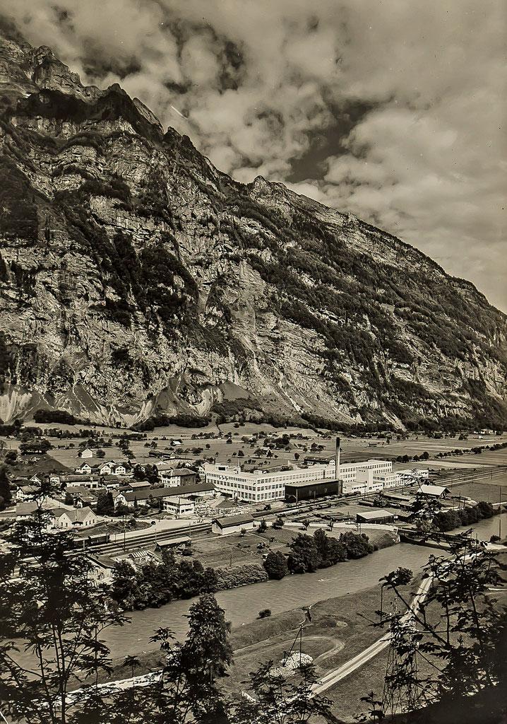 Fabrikgebäude Stoffel um 1950