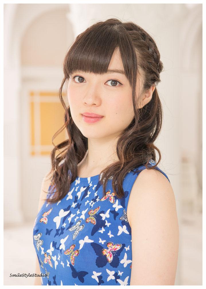 プロフィール宣材 2017.09.30       カメラ Hibiki Miyake ヘアメイクKana Takahashi    自然光