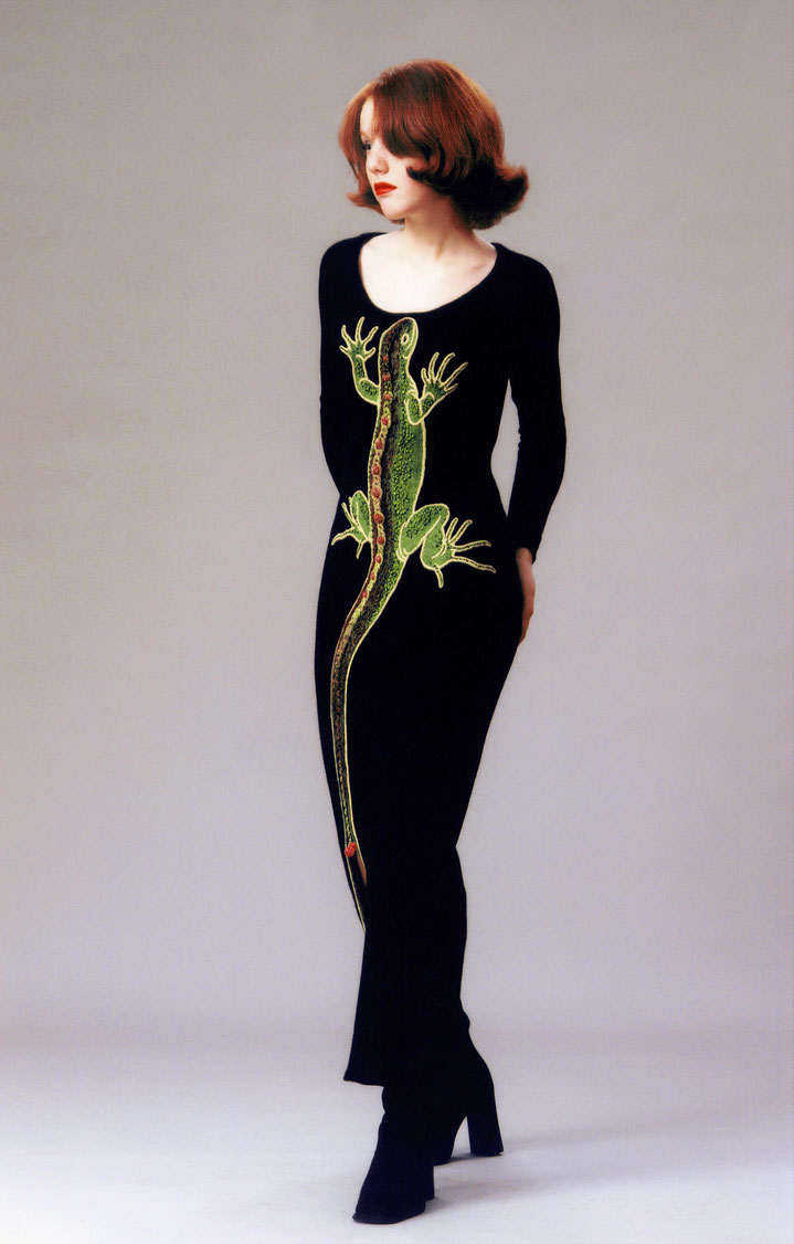 "Alexander Seraphim's knitwear,  ""Beloved Lizard #3"", 1997"