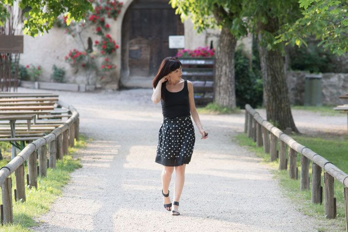 Walking on my path