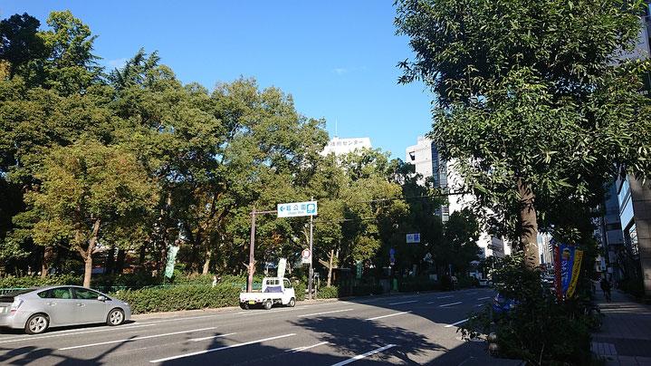 大阪市 靭公園