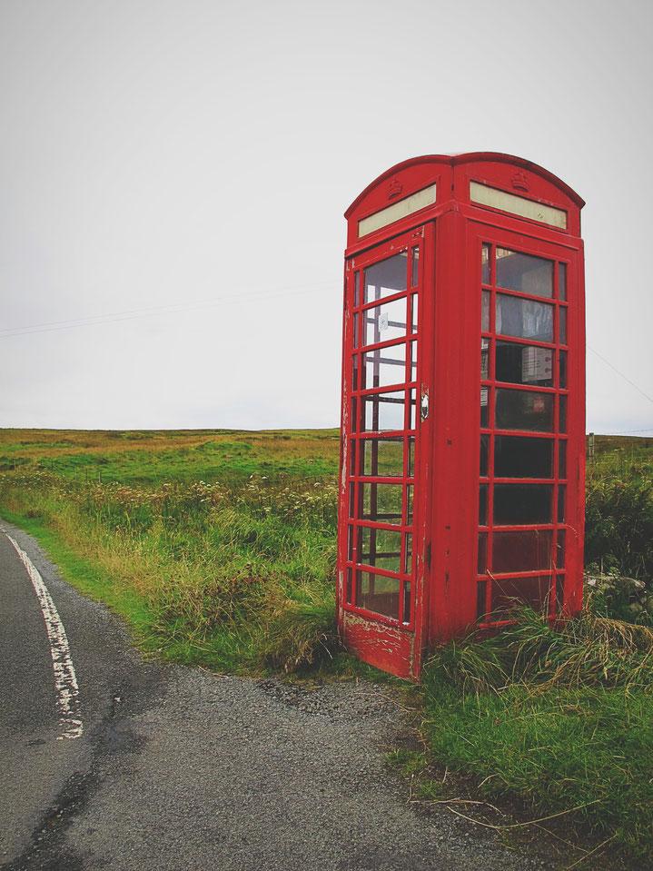 bigousteppes cabine téléphone route écosse