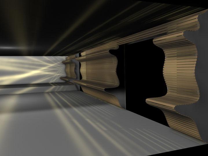 CAD - Entwurf der Innenraumgestaltung für eine Privatperson (Design: Boje)