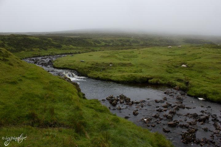 Gegend nahe Uig auf der Isle of Skye