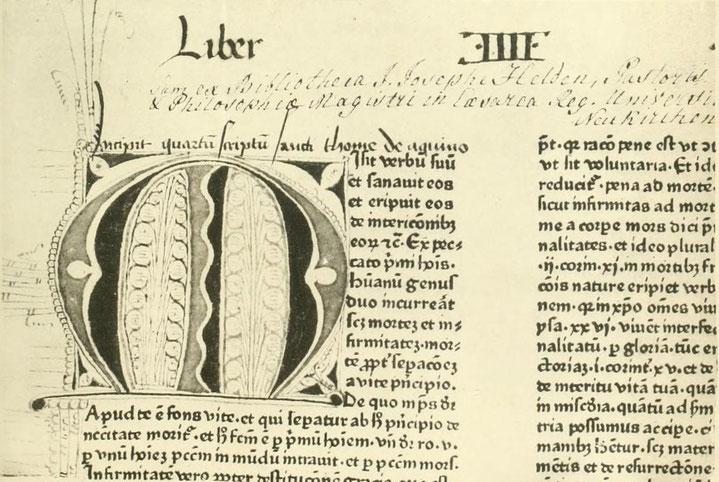 St. Thomas de Aquino. Moguntiae 1469.